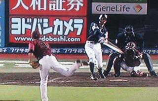昨日HRの福田も上手く打ちました。