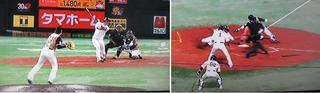 上林ヒットにデスパイネも走塁で応えます。