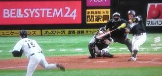 松田の通算3000塁打はHRに