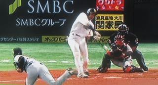 柳田初球打ち2ランでひっくり返しました。