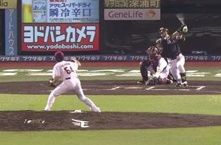 松田の勝ち越し打