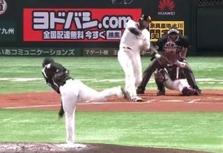 柳田自身初の100打点はキャリアハイの35号