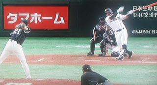 要所で抑える和田さんの投球
