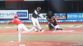 三森初回初球打ちで3ベースでチャンスメイク