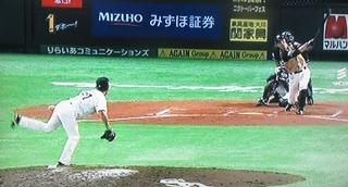 嘉弥山が連日の満塁のピンチを止めます。