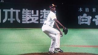 モイネロ来日初奪三振の投球
