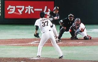 中村晃この試合、3打点目となるタイムリー