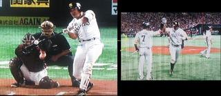 内川4試合連続の同点ホームラン、ホームインで中村晃とハイタッチ