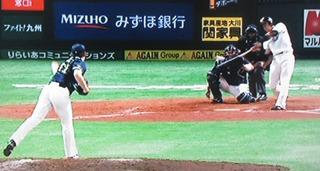 5本目は、鶴岡のビックリの一発