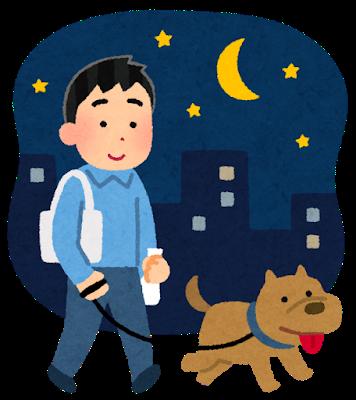 pet_dog_sanpo_yoru_man