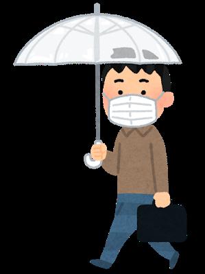 walking_rain_mask_man