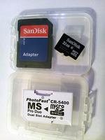 microSDHC 32GB �ȥ�����ƥ��å������ץ�����CR-5400