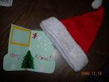 帽子&カード