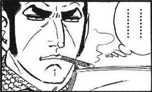 漫画 タバコ サンジ ワンピース デューク東郷に関連した画像-04