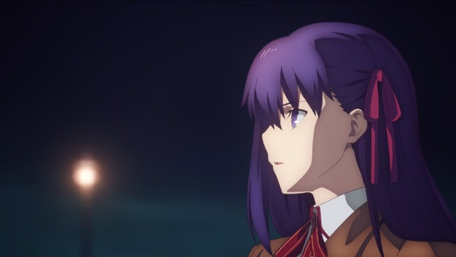 Fate/staynight Heaven'sFeel 予告編 劇場版 映画に関連した画像-04