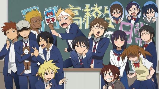 高校生 中学生 アニメ テンプレに関連した画像-01
