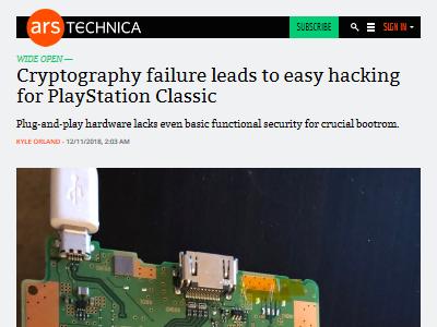 プレイステーションクラシック ミニプレステ ハッキング 暗号化 ソニーに関連した画像-02