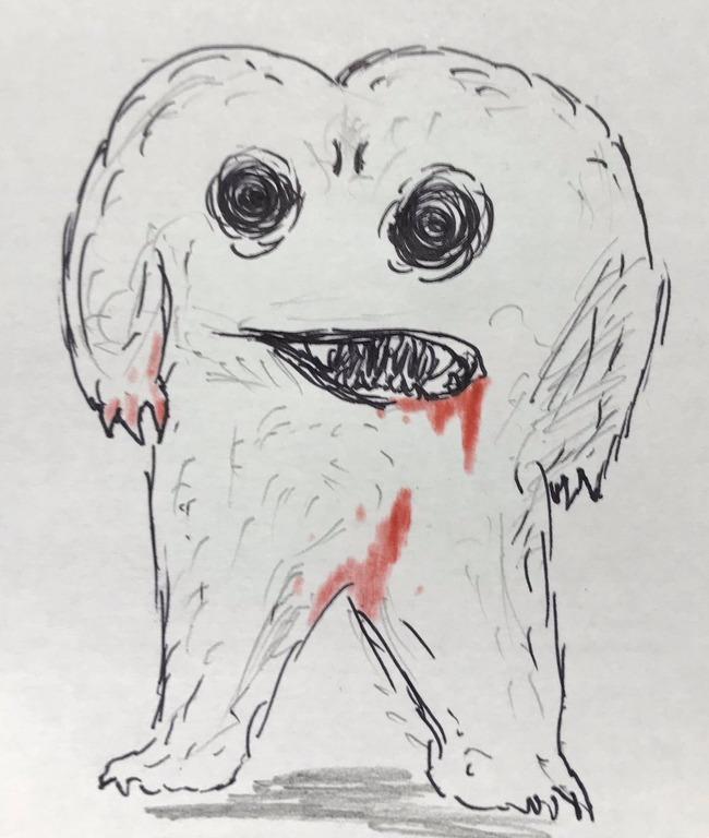 犬の写真 バケモノ に関連した画像-03