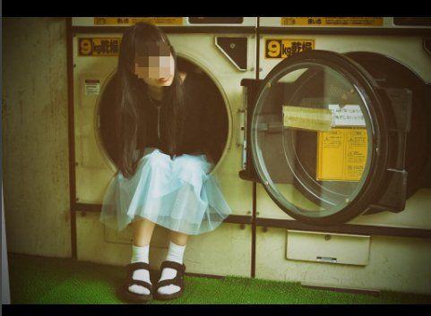 インスタ女子 インスタ蝿 インスタ映え コインランドリー 洗濯機に関連した画像-04