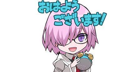 FGO LINEスタンプ Fate フェイト グランドオーダーに関連した画像-01