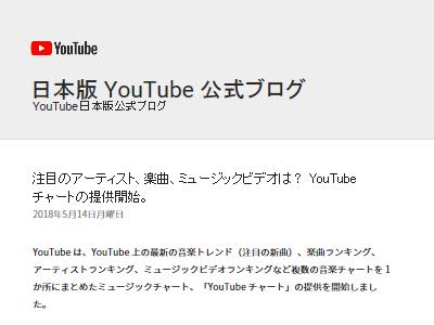 YouTube チャート 楽曲 ミュージックビデオに関連した画像-02