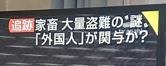 家畜 盗難 外国人 つるの剛士 米山隆一 町山智浩に関連した画像-05