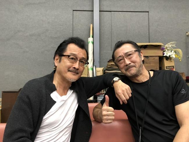 吉田鋼太郎 大塚明夫 舞台 稽古 兄弟 俳優 声優に関連した画像-02