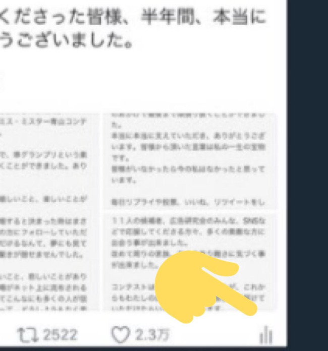 ミス青山 自演 井口綾子 ツイッターに関連した画像-11