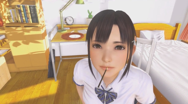 3D エロゲ イリュージョン 老舗 PSVR VR専用ゲーム サマーレッスン VRカノジョに関連した画像-01