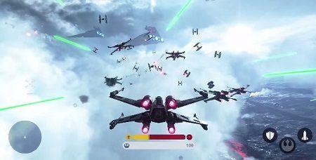 スターウォーズ バトルフロント 空中戦 プレイ動画に関連した画像-01