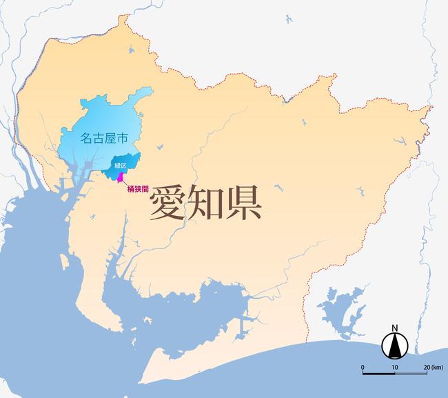 Map_(Okehazama-Midori_Ward-Nagoya-Aichi)