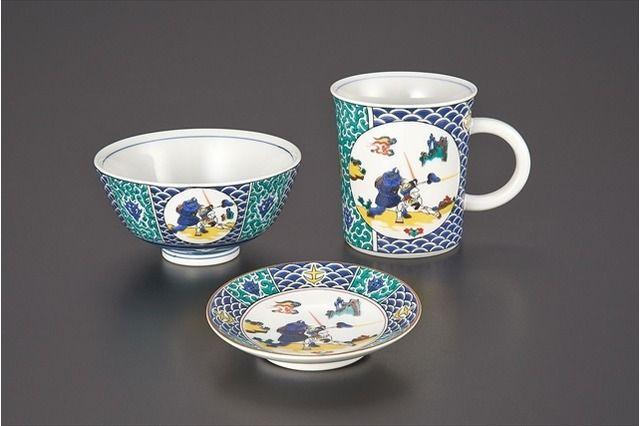 機動戦士ガンダム 九谷焼 伝統工芸 プレミアムバンダイ 箸置き 豆皿 茶碗 マグカップに関連した画像-04