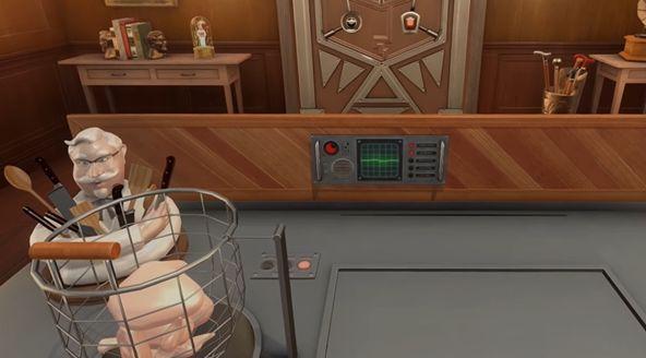 ケンタッキー デスゲーム VR ゲーム チキン 研修に関連した画像-01