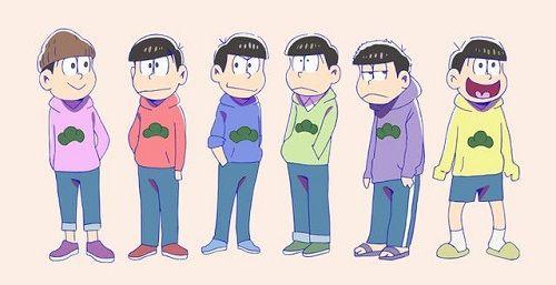 おそ松さん アニメ 兄弟 人気 ランキング 一松 十四松 アンケートに関連した画像-01