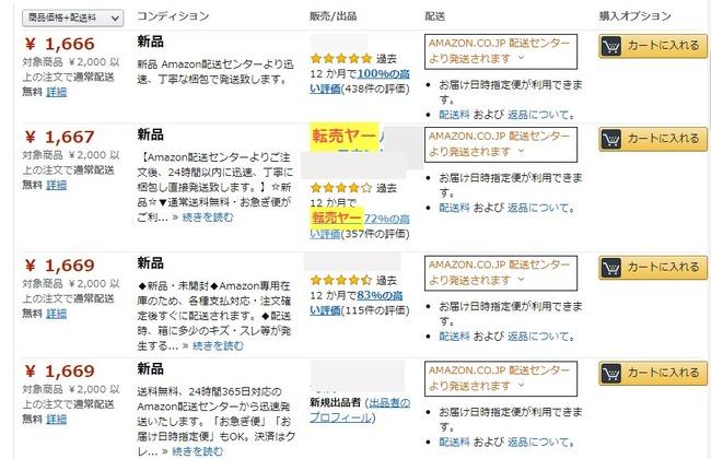 amazon アマゾン 転売 ツール フリーランス 個人 ブラックリストに関連した画像-04