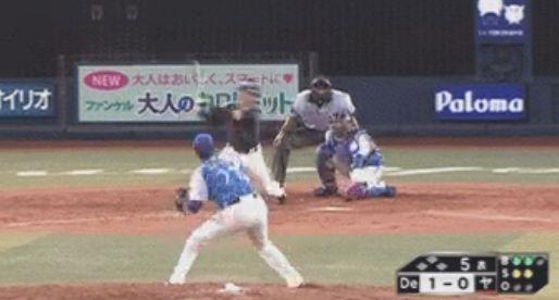 DeNA ヤクルト プロ野球 珍プレー 梶谷に関連した画像-01