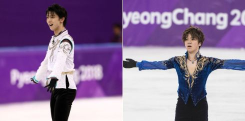 【五輪速報】フィギュア男子、羽生結弦選手が優勝!宇野昌磨選手が2位!日本勢ワンツーフィニッシュ!