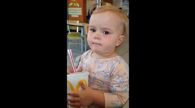 赤ちゃん コーラ リアクションに関連した画像-03