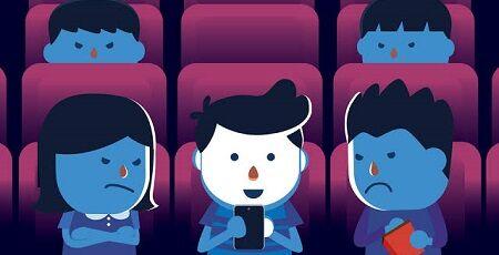 映画館 スマホ OK 若者 映画 集中 マナーに関連した画像-01