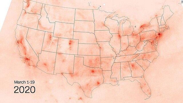 新型コロナウイルス アメリカ 大気汚染 改善に関連した画像-03