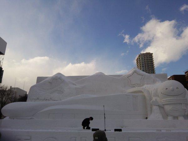 雪まつり ラブライブ! 進撃の巨人 雪ミク 初音ミクに関連した画像-05