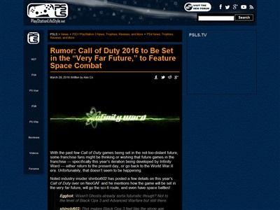 コールオブデューティ ゴースト2 最新作 宇宙戦争 SFに関連した画像-02