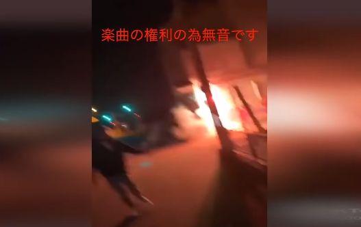 TikTok 人気 ユーチューバー YouTuber 自宅 はーどまん 花火 100発 打ち込むに関連した画像-01