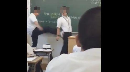 いじめ 炎上 博多高校 教師 暴行 学校 警察 被害届 生徒指導 に関連した画像-01