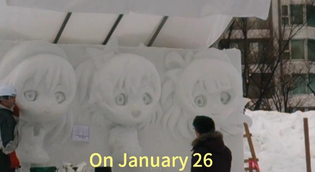 ラブライブ! 雪像 さっぽろ雪まつりに関連した画像-02