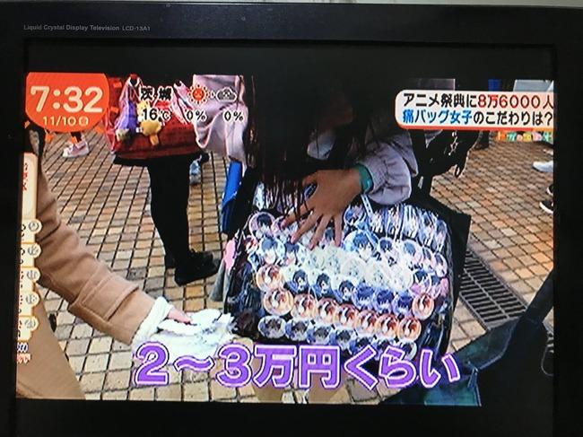 めざましテレビ 痛バッグ 特集 総額 100万円に関連した画像-12