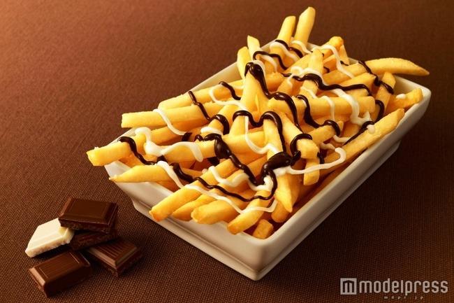 チョコポテト マクドナルド フライドポテト チョコレートに関連した画像-03