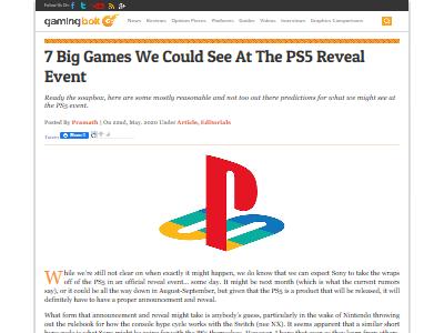 PS5発表タイトル予想に関連した画像-02