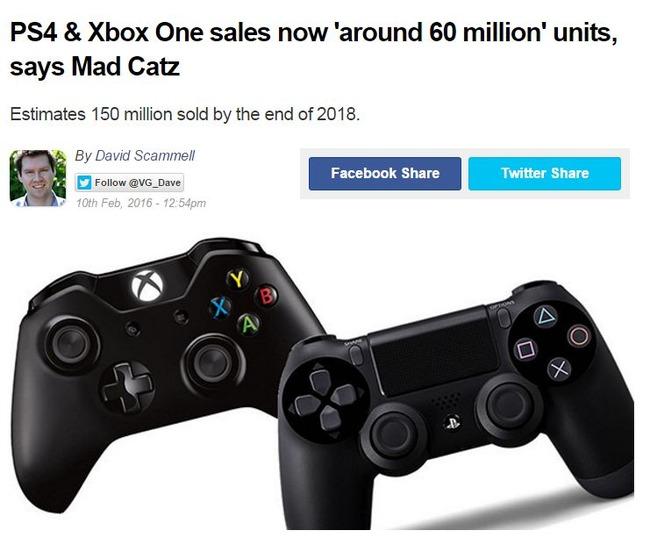 PS4 XboxONE 売上 販売台数 ゲームハードに関連した画像-02