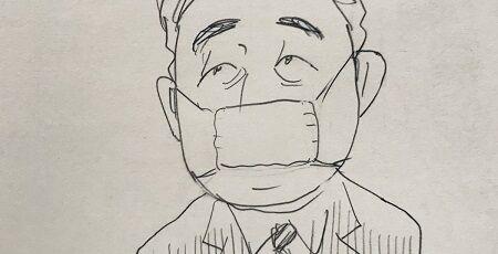 「漫画家が総理大臣の風刺画を描いただけで怒る人がいる社会やばすぎる」→「総理や日本への悪口を言い続けてる連中にいい加減キレてるって気づかないのか?」